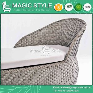 New Design Rattan Lounge with Cushion Rattan Wicker Sunlounger Outdoor Lounge Patio Wicker Lounge Rattan Chaise Lounger pictures & photos