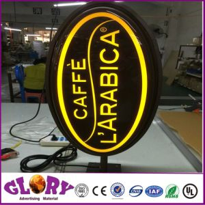 Illuminated Acrylic Shop and Advertising LED Light Box pictures & photos