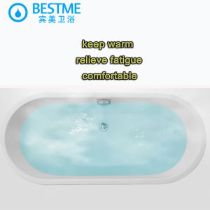 Best-Selling Colorful Simple Art Indoor Bathtub (M030) pictures & photos