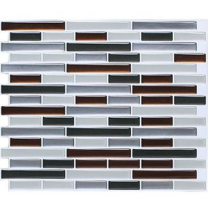 Us Hot Product Self Adhesive Vinyl Tiles Peel and Stick Mosaic Backsplash for Feature Walls