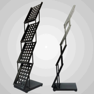 Retail Metal Display Stand Custom Metal Fabrication (LFCR0186) pictures & photos