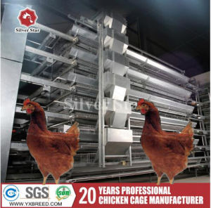 3/4 Tiers Poultry Equipment Super Layer Cages pictures & photos