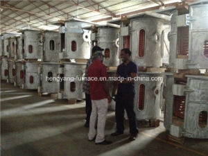350kg Metal Foundry Industry Induction Melting Furnace pictures & photos