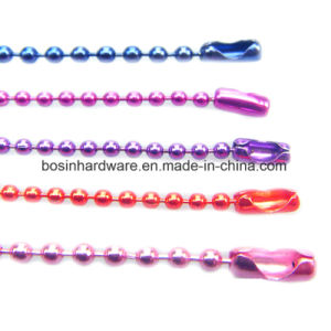 15cm Colorful Metal Ball Chain pictures & photos