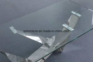 Hot Selling Model Modern Glass Coffee Table pictures & photos