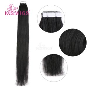 Hot Selling Unprocessed Virgin Human Tape in Hair Extension pictures & photos