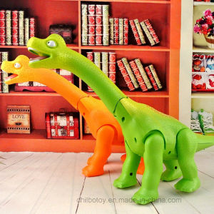 Talking Cartoon Electric Brontosaurus Toy From Dinosaur World pictures & photos