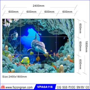 Art Background Glazed Wall Tile for Building Material (VPA6A112) pictures & photos