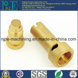 Made in China Customized Precision Machining Microphone Threaded Adapter pictures & photos