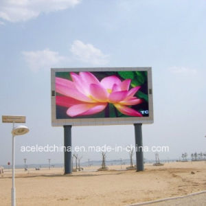 Outdoor DIP P16 Full Color LED Display 256X256mm RGB Color LED TV Advertising Display Shenzhen LED pictures & photos