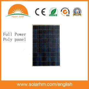 Ce Certificate Best Price 125W Polycrystalline Solar Panel for System pictures & photos