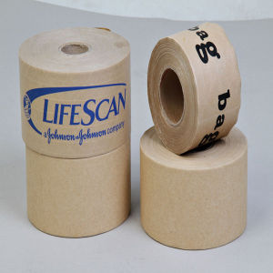 Reinforced Gummed Kraft Paper Adhesive Tape pictures & photos