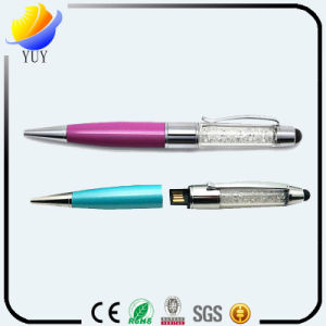 Fancy Metal and Plastic USB Pen pictures & photos