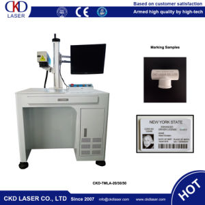 Factory Supply Fiber Laser Marking Machine for Breastpiece pictures & photos