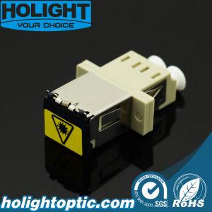 Fiber Optic Adaptor LC Duplex Multimode Beige pictures & photos
