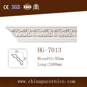Luxury PU Cornice Moulding/Polyurethane Crown Moulding pictures & photos