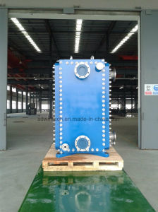 Industrial Titanium Plate and Frame Heat Exchanger/All Welded Plate Type Heat Exchanger/Block or Comblock Structure pictures & photos