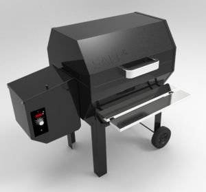 Outdoor Electric Pellet BBQ Grill Made in China pictures & photos
