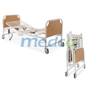 Two Functions Electric Folding Home Care Bed pictures & photos