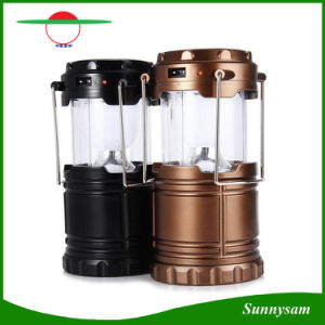 Outdoor Solar Power Camping Portable Lantern Rechargeable Emergency Light Hiking pictures & photos