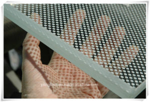 Tempered Anti - Glare Ceramic Frit Glass pictures & photos