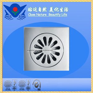Xc-004 High Quality Sanitary Hardware Brass Floor Drain pictures & photos