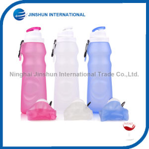 17oz Students Children Creative Cute Water Bottle Silicone Folding Cup pictures & photos