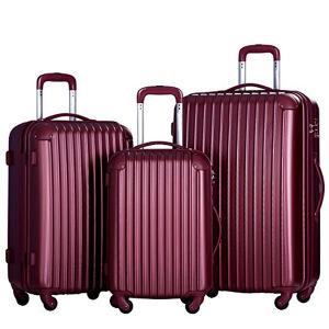 China 4 Wheel Suitcase 3 PCS Luggage Set - China Wheel Suitcase ...