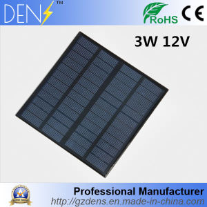 3W 12V DIY Solar Cell 145*145mm 250mAh Polycrystalline Pet + EVA Laminated Mini Solar Cell pictures & photos
