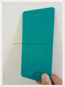 Blue-Green Orange-Peel Finish Decorative Powder Paint pictures & photos