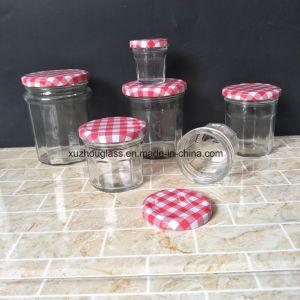 FDA 1oz 4oz 6oz 8oz 16oz Wide Mouth Empty Glass Food Jar for Honey Pickle Jam with Tin Lid Lug Cap pictures & photos