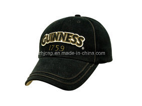 Custom Embroidery Caps Burshed Cotton Promotional Caps Hat Snapback Cap Baseball Caps pictures & photos