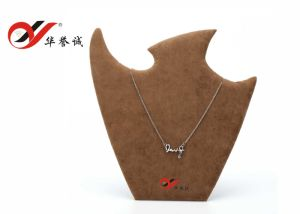 Bird Shape Medium Size Velvet Necklace Easel pictures & photos