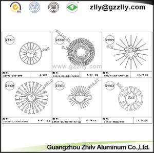 Sand Blast Aluminum Profile Heatsink/Aluminum Alloy pictures & photos