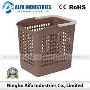 Plastic Storage Basket Injection Mould with Handle