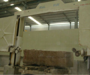 CNC Diamond Mono Wire Saw Stone Cutting Machine for Block Squaring pictures & photos