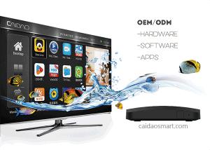 Supper Smart Amlogic S905X Processor Quad Core  2GB RAM Android TV Box pictures & photos