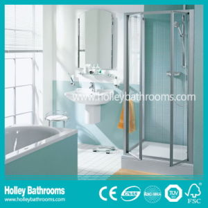 Good Quality Clean Cut Shower Cabinet with Hinger Open Door (SE322N) pictures & photos