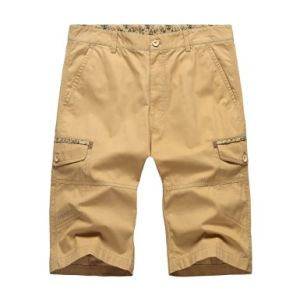 Brand Quantity Men′s Casual Summer Cotton Cargo Shorts pictures & photos