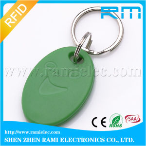 RFID Keychain Ring with Plus S X 2k/4k Chip Customize Logo pictures & photos
