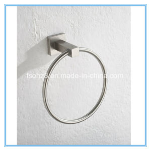 Simple Bathroom Accessory Stainless Steel Towel Ring (Ymt-2604) pictures & photos