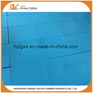 1mx1m Thick Anti-Noise Rubber Floor Tile Mat for Crossfit pictures & photos