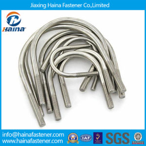 Jiaxing Haina 316 Stainless Steel U Bolt with Plate pictures & photos