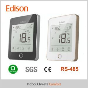 LCD Touch Screen RS485 Modbus Programmable Heating Room Thermostat pictures & photos