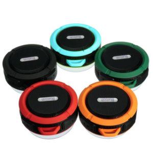 Waterproof Bluetooth C6 Sucker Outdoor Wireless Stereo Speaker pictures & photos