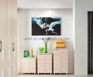 New Design Living Room Wooden 3 Drawers Cabinet (UL-LF012) pictures & photos