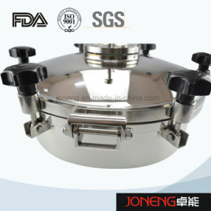 Stainless Steel Pressure Type Round Manhole Cover Manway (JN-ML2001) pictures & photos