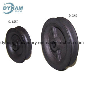 Cast Iron Pulley CNC Machining Hot-Box Sand Casting pictures & photos