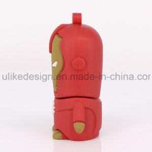 Iron Man PVC USB Flash Drive (UL-PVC014) pictures & photos