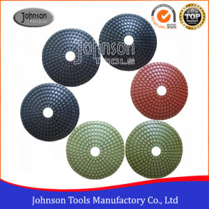 100mm Diamond Convex Polishing Pad for Polishing Stone pictures & photos